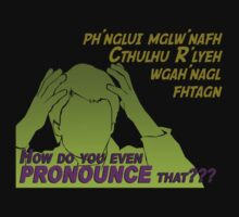 Miscellaneous - how do you even PRONOUNCE that??? Baby Tee