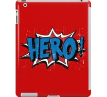 hero cartoon iPad Case/Skin