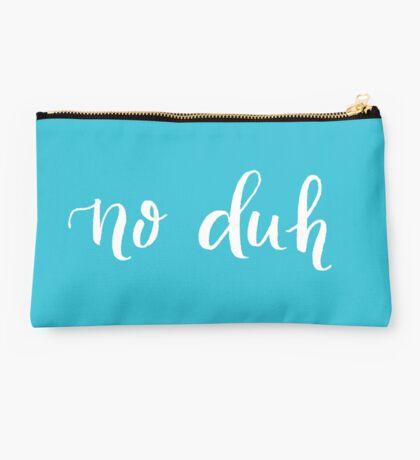 No Duh Studio Pouch