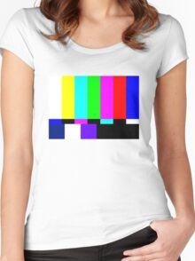 Tv bars Women's Fitted Scoop T-Shirt