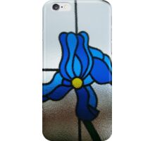 Funky Blue Flower iPhone Case/Skin