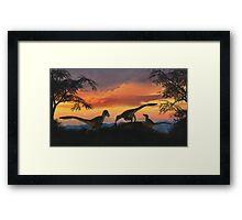 Dakotaraptor Framed Print