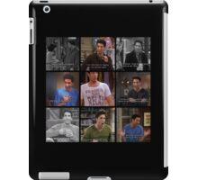 Ross Geller Quotes Collage #1 iPad Case/Skin