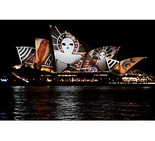 Vivid 2016 Opera House 19 Photographic Print