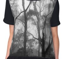 The Clearest Way into The Universe is Through a Forest Wilderness Chiffon Top