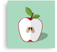 Half an apple. Canvas Print