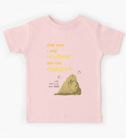 Quotes and quips - Oatmeal? Kids Tee