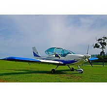 Texan Top Class LSA light aircraft, Tooradin Airport, Australia. Photographic Print