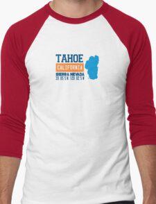 Lake Tahoe. Men's Baseball ¾ T-Shirt