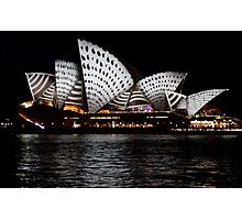 Vivid 2016 Opera House 20 Photographic Print
