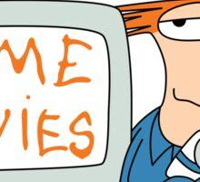 Home Movies Sticker