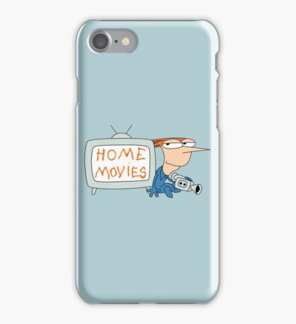 Home Movies iPhone Case/Skin