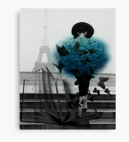 Flying Fish Coat In France Canvas Print