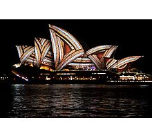 Vivid 2016 Opera House 21 Photographic Print