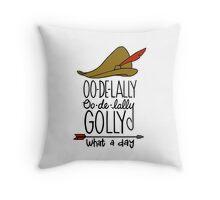 Oo De Lally! Throw Pillow