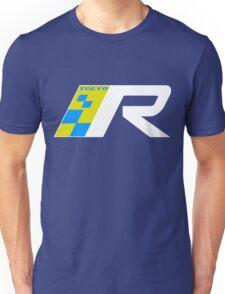 Volvo R Design Racing Graphic WHT Unisex T-Shirt