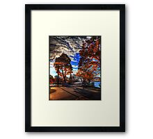 """The Esplanade"" Framed Print"