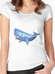 Whale Oil Women's Fitted Scoop T-Shirt