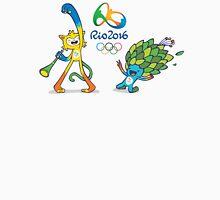 Vinicius and Tom, Rio 2016 mascots Unisex T-Shirt