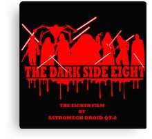 The Dark Side Eight Canvas Print