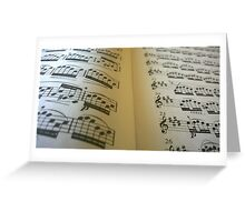Music in the Middle Greeting Card