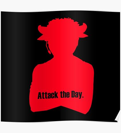 Attack the Day – Brass Knuckles Poster