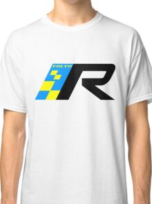 Volvo R Design Racing Graphic BLK2 Classic T-Shirt