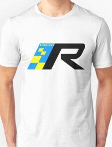 Volvo R Design Racing Graphic BLK2 Unisex T-Shirt