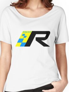 Volvo R Design Racing Graphic BLK Women's Relaxed Fit T-Shirt