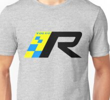 Volvo R Design Racing Graphic BLK Unisex T-Shirt