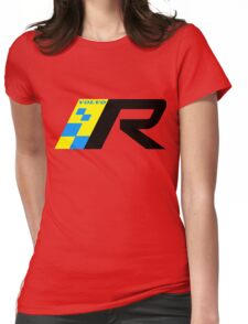 Volvo R Design Racing Graphic BLK Womens Fitted T-Shirt