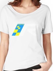 Volvo R Design Racing Graphic WHT2 Women's Relaxed Fit T-Shirt