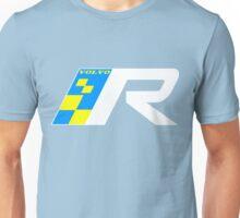 Volvo R Design Racing Graphic WHT2 Unisex T-Shirt