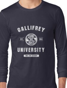 Gallifrey University Long Sleeve T-Shirt