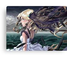 The Ocean - Painted Canvas Print