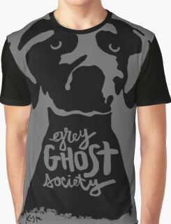 Grey Ghost Society : Original Graphic T-Shirt