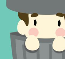 Dan Howell a humble trash can.  Sticker