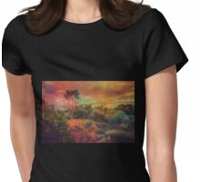 Arid Land Womens Fitted T-Shirt