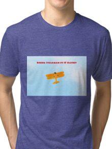 Boeing Stearman pt-17 Tri-blend T-Shirt