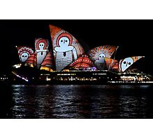 Vivid 2016 Opera House 24 Photographic Print
