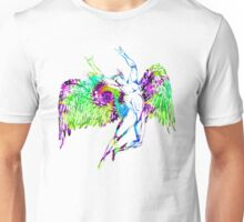 ICARUS THROWS THE HORNS - trippin' on XTC Unisex T-Shirt