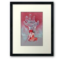 Steven Universe - Red Palette Lapis Framed Print