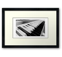 Inverted Piano Framed Print