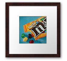 Peanut M&Ms  Framed Print
