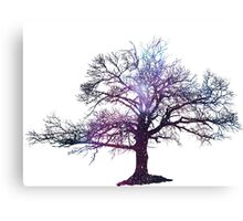 Galaxy Tree  Canvas Print