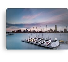 Sailing Pavilion on the Charles River Metal Print