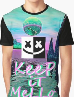 Trippy kEEp iT MeLLo Set Marshmello x Slushii Graphic T-Shirt
