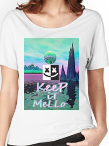 Trippy kEEp iT MeLLo Set Marshmello x Slushii Women's Relaxed Fit T-Shirt