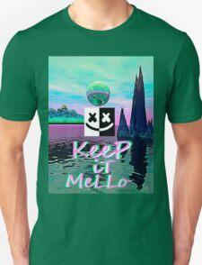 Trippy kEEp iT MeLLo Set Marshmello x Slushii Unisex T-Shirt