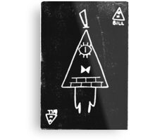 Bill Cipher print  Metal Print